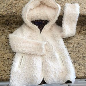 Madden girl fuzzy jacket Small